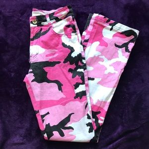 Pink Camo jeans